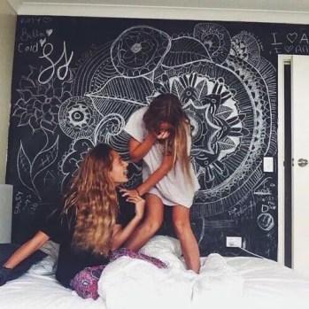 Chalk Wall Bedroom Ideas 113