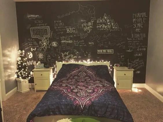 Chalk Wall Bedroom Ideas 116