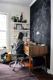 Chalk Wall Bedroom Ideas 144