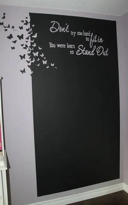 Chalk Wall Bedroom Ideas 156
