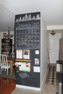 Chalk Wall Bedroom Ideas 33