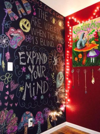 Chalk Wall Bedroom Ideas 47