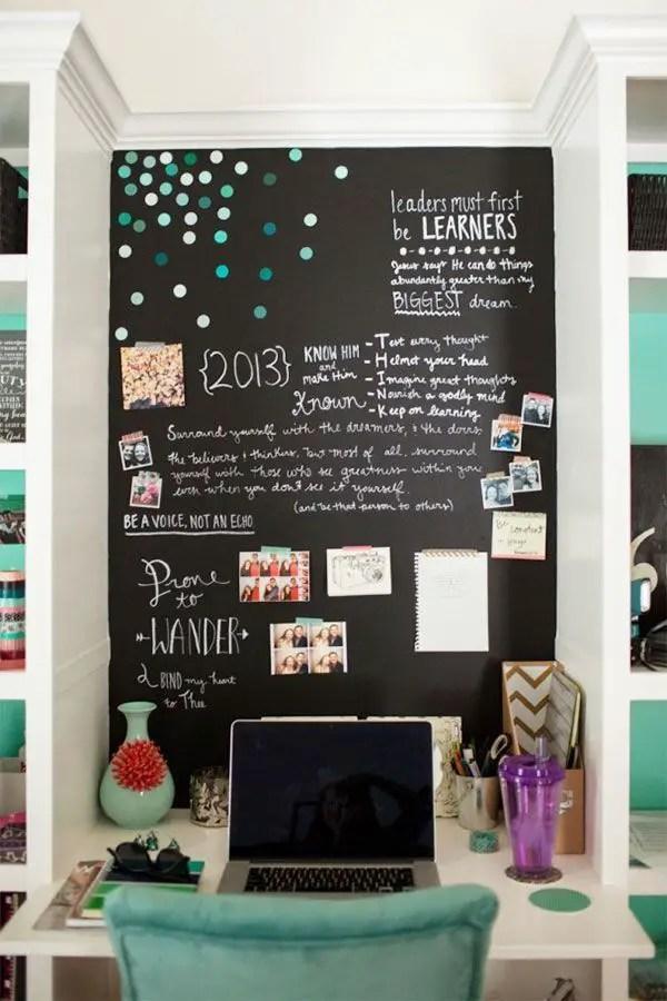 Chalk Wall Bedroom Ideas 56