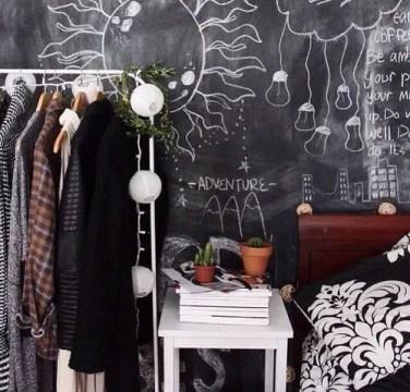 Chalk Wall Bedroom Ideas 64