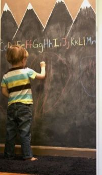 Chalk Wall Bedroom Ideas 86