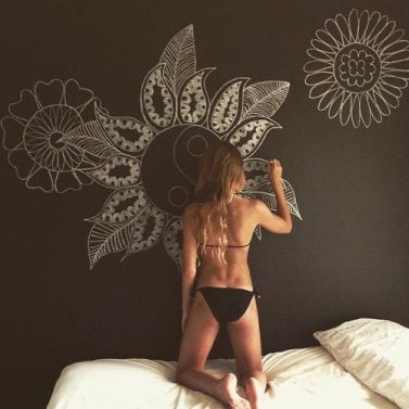 Chalk Wall Bedroom Ideas 91