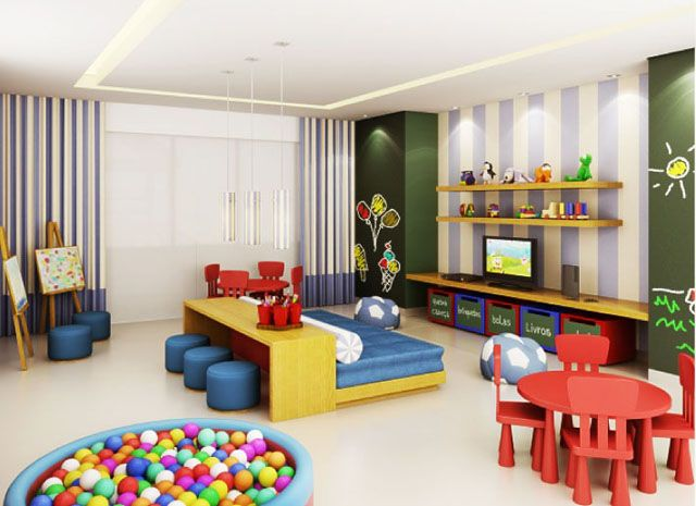 Diy Playroom Ideas 36