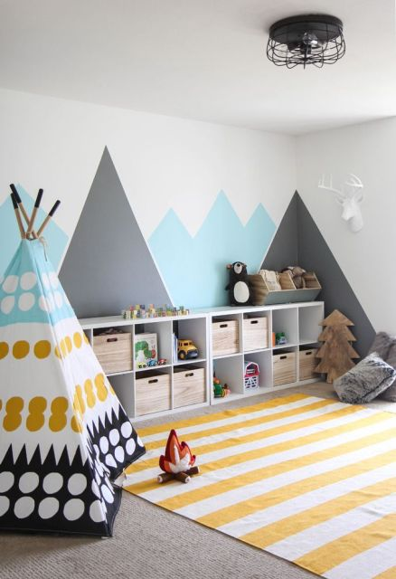 Diy Playroom Ideas 77