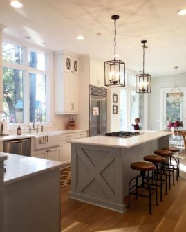 European Farmhouse Kitchen Decor Ideas 128