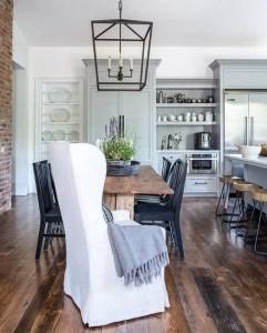 European Farmhouse Kitchen Decor Ideas 132