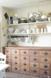 European Farmhouse Kitchen Decor Ideas 24
