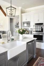 European Farmhouse Kitchen Decor Ideas 47