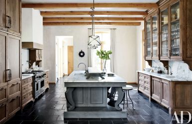 European Farmhouse Kitchen Decor Ideas 51