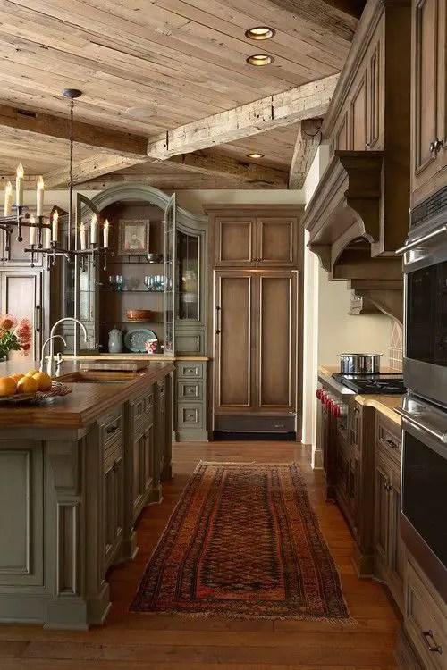 European Farmhouse Kitchen Decor Ideas 57