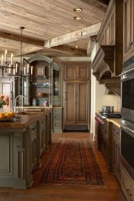 European Farmhouse Kitchen Decor Ideas 57