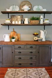 European Farmhouse Kitchen Decor Ideas 74