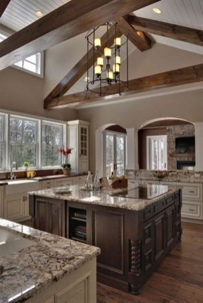 European Farmhouse Kitchen Decor Ideas 79