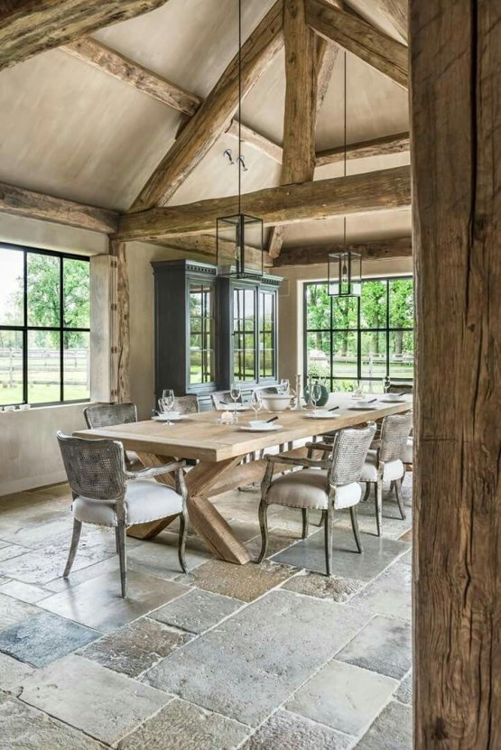 European Farmhouse Kitchen Decor Ideas 8