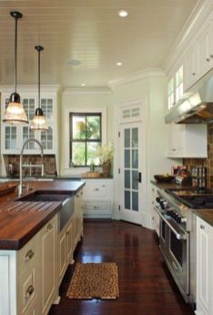European Farmhouse Kitchen Decor Ideas 85