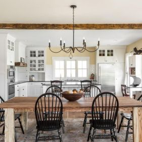 European Farmhouse Kitchen Decor Ideas 92