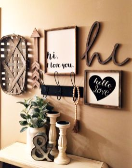 Farmhouse Gallery Wall Ideas 111
