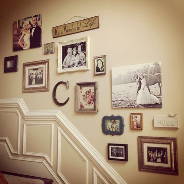 Farmhouse Gallery Wall Ideas 114