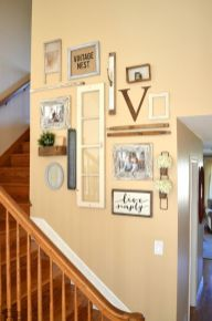 Farmhouse Gallery Wall Ideas 116