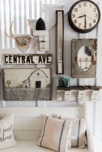 Farmhouse Gallery Wall Ideas 117