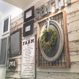 Farmhouse Gallery Wall Ideas 118