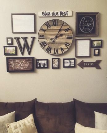 Farmhouse Gallery Wall Ideas 133