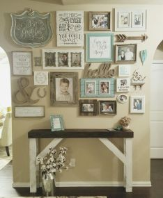 Farmhouse Gallery Wall Ideas 40