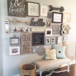 Farmhouse Gallery Wall Ideas 57