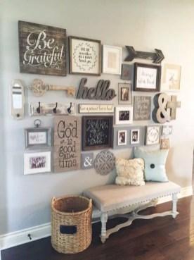 Farmhouse Gallery Wall Ideas 57