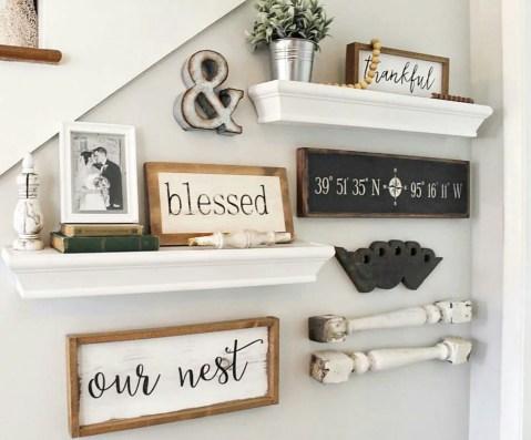 Farmhouse Gallery Wall Ideas 77