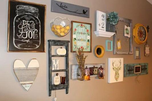 Farmhouse Gallery Wall Ideas 79