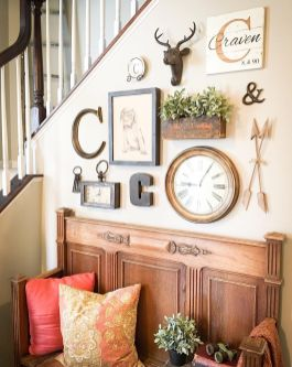Farmhouse Gallery Wall Ideas 84