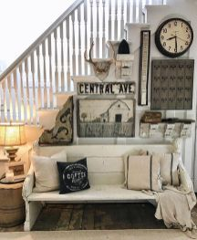 Farmhouse Gallery Wall Ideas 87
