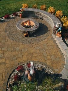 Fire Pit Seating Ideas 109
