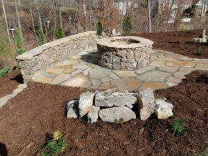 Fire Pit Seating Ideas 12