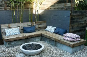 Fire Pit Seating Ideas 13