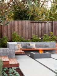 Fire Pit Seating Ideas 132