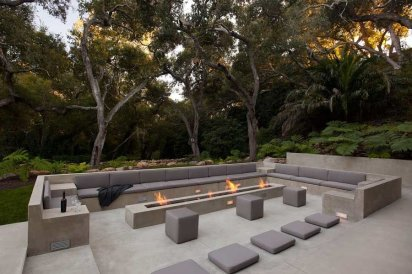 Fire Pit Seating Ideas 134