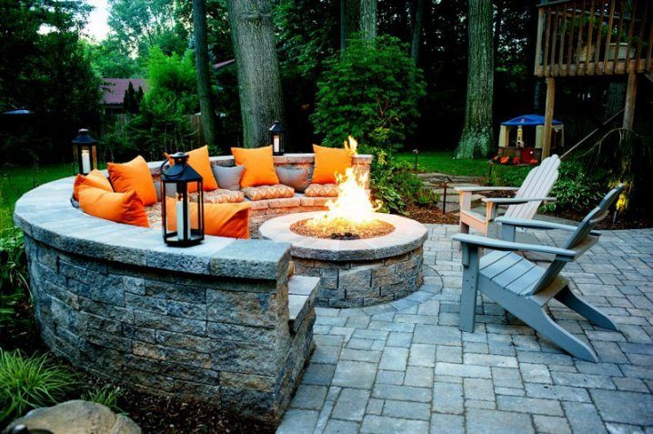 Fire Pit Seating Ideas 138