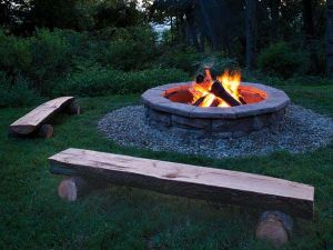 Fire Pit Seating Ideas 149