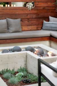 Fire Pit Seating Ideas 15
