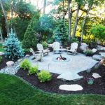 Fire Pit Seating Ideas 152