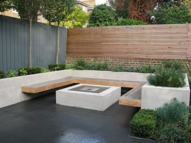Fire Pit Seating Ideas 153