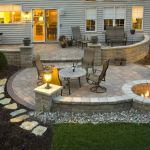 Fire Pit Seating Ideas 158