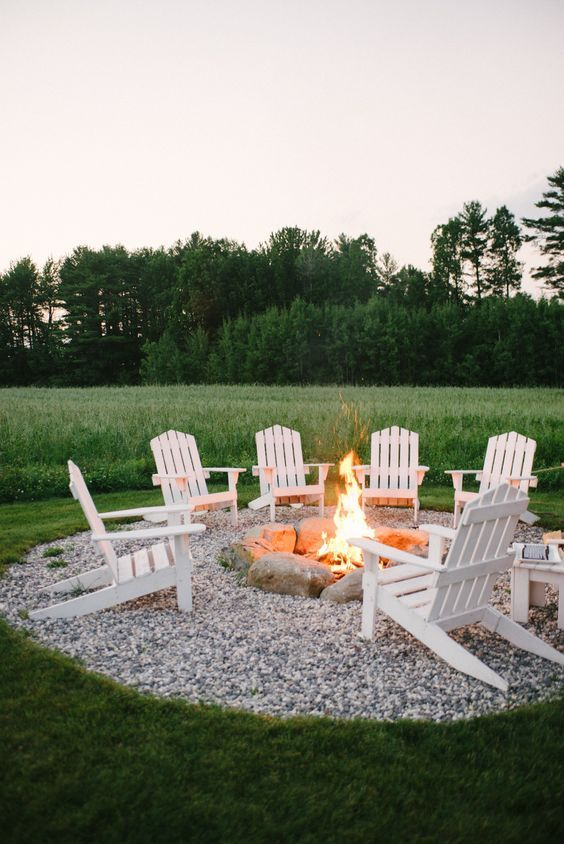 Fire Pit Seating Ideas 159