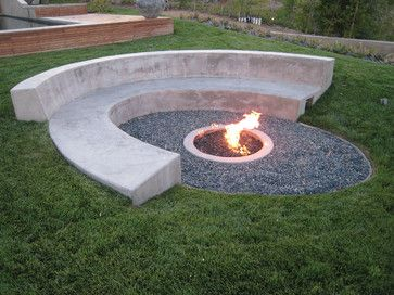 Fire Pit Seating Ideas 161